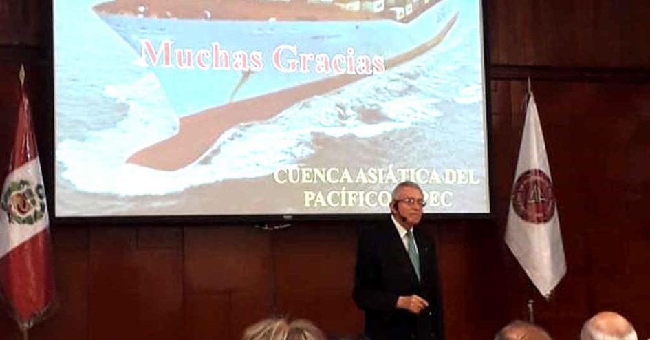 Exposición del Mega Proyecto Ferroviario Bioceánico en Peru